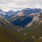 Rocky Mountain Vista by ldredge