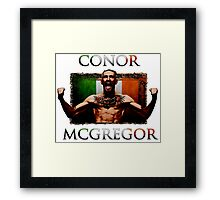 Conor - McGregor Irish Legend of the UFC Framed Print