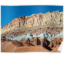 Cliffs of Color Poster