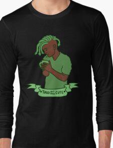 """""""Tired but still Cute"""" Gorgon Long Sleeve T-Shirt"""