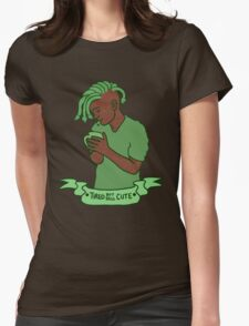 """Tired but still Cute"" Gorgon Womens Fitted T-Shirt"