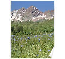 Maroon Bells Aspen Colorado Poster