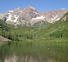 Maroon Bells Aspen Colorado by irishtrish