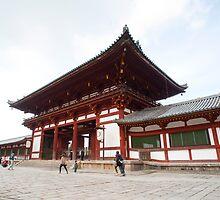 Todai-ji Temple Gate by photoeverywhere