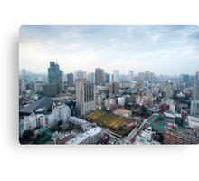 urban tokyo Canvas Print