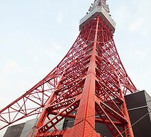 tokyo tv tower by photoeverywhere