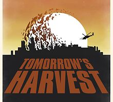 Boards of Canada - Tomorrow's Harvest Poster (Alternate Version) by nickgfx
