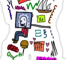 BS ABC's: X Sticker