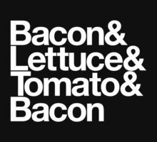 Bacon & Lettuce & Tomato & Bacon Kids Clothes