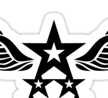 Stars and Wings Sticker