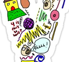 BS ABC's: Y Sticker