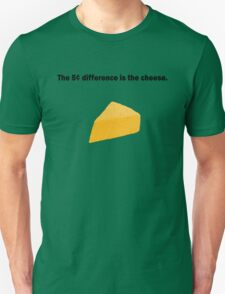 5 Cent Difference Unisex T-Shirt
