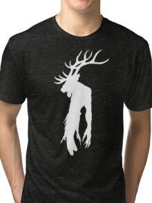 Wendigo Silhouette Tri-blend T-Shirt