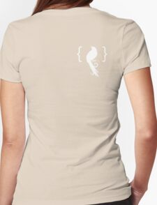 l'Oiseau Noir Womens Fitted T-Shirt