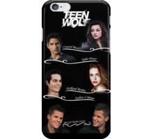 Teen Wolf Cast Case iPhone Case/Skin