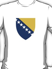 Bosnia and Herzegovina Coat of Arms  T-Shirt