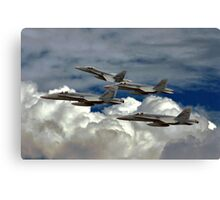 Top Guns Canvas Print