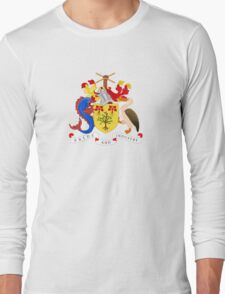 Barbados Coat of Arms  Long Sleeve T-Shirt