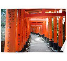 Torii gate Tunnel Poster