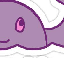 Original Bisexuwhale Sticker