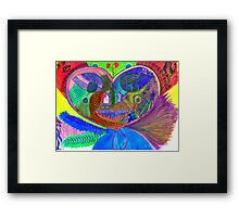 A great heart Framed Print