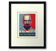 Walter White a.k.a. Heisenberg Framed Print