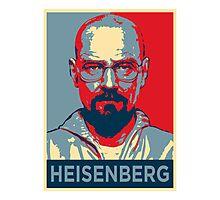 Walter White a.k.a. Heisenberg Photographic Print