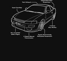 Toyota Corolla AE101 GT-Apex Levin Unisex T-Shirt