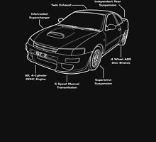 Toyota Corolla AE101 GT-Z Levin Unisex T-Shirt