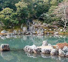 Japanese Zen garden by photoeverywhere