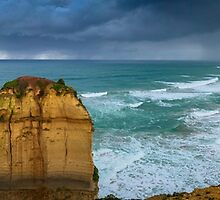 Twelve Apostles Panorama by Natalie Ord