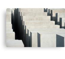 holocaust memorial stones Canvas Print