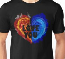 Burning Love Unisex T-Shirt