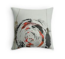 Untitled Abstract Study 26 Throw Pillow