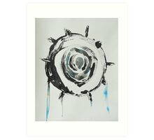 Untitled Abstract Study 28 Art Print