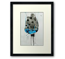 Untitled Abstract Study 33 Framed Print