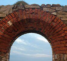 Historic Cornish tin mine ruins by photoeverywhere
