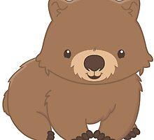 Cute Kawaii Wombat by billiekeeses
