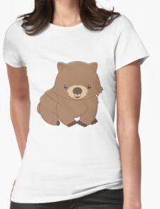 Cute Kawaii Wombat Womens Fitted T-Shirt