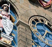Cardiff Castle Clock Tower detail by photoeverywhere
