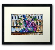 Sea Monster Art Framed Print