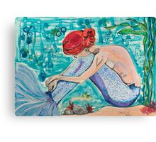Dream on Aquarius Canvas Print