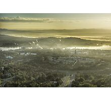 Middle earth... no wait, it's Canberra. Photographic Print