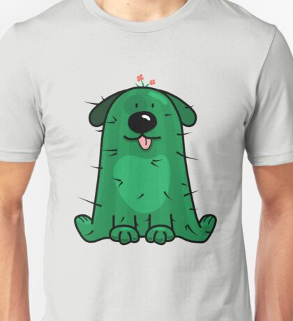 Hi! Do you like cactus? Unisex T-Shirt
