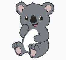 Cute Kawaii Koala One Piece - Long Sleeve