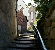 Steps to the congregational church by photoeverywhere