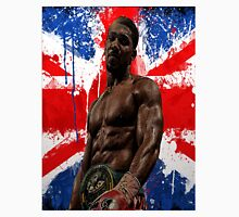 Anthony Joshua Boxing British Flag Rectangle  Unisex T-Shirt