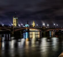 London At Night by Tobias King