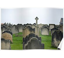 St Mary's graveyard Poster