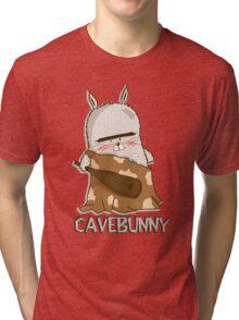 Big grumpy cavebunny Tri-blend T-Shirt